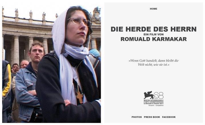 DIE HERDE DES HERRN / WEBSITE