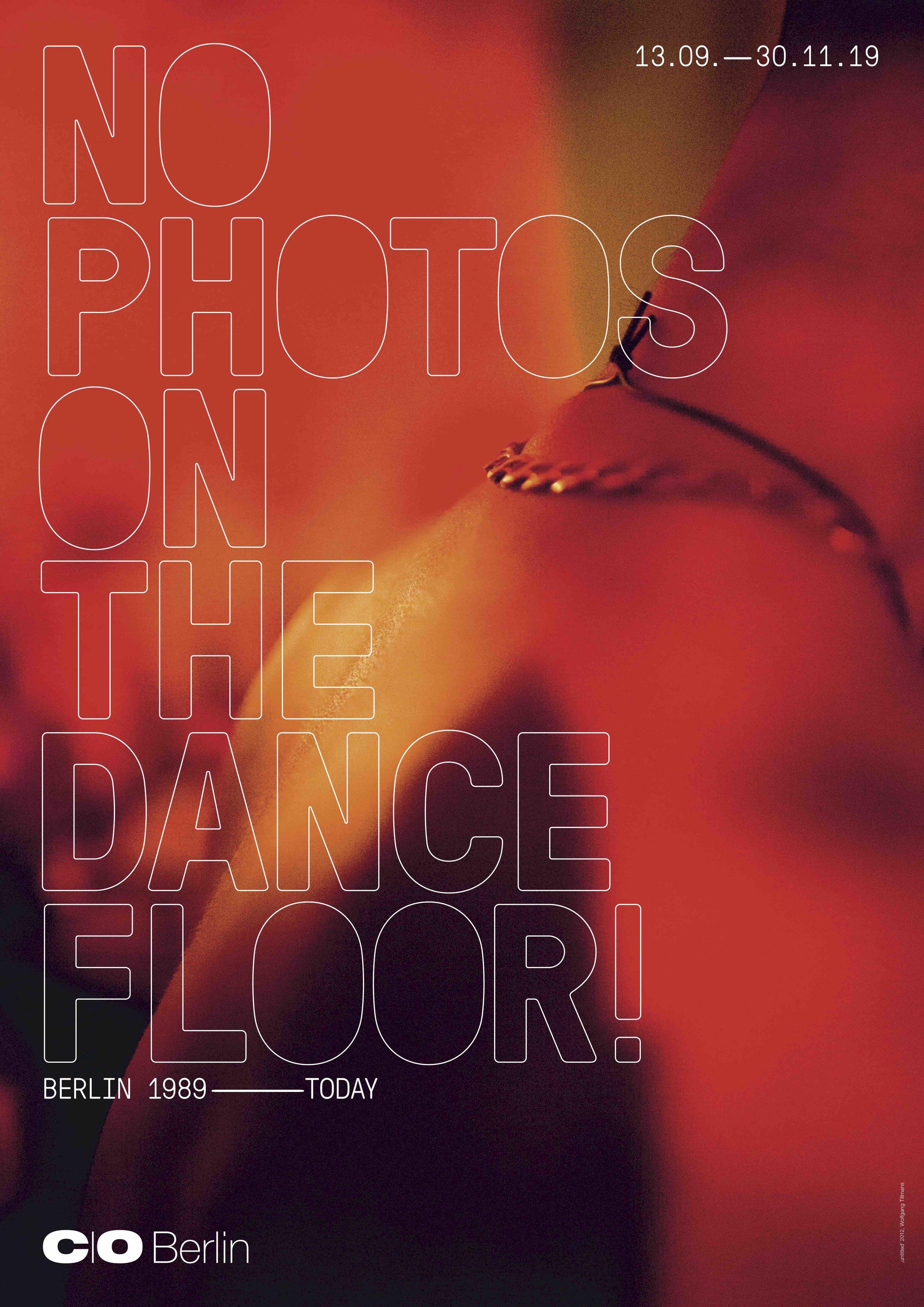 NO PHOTOS ON THE DANCE FLOOR!