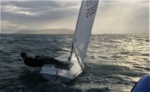 Training over the winter at Weymouth & Portland.