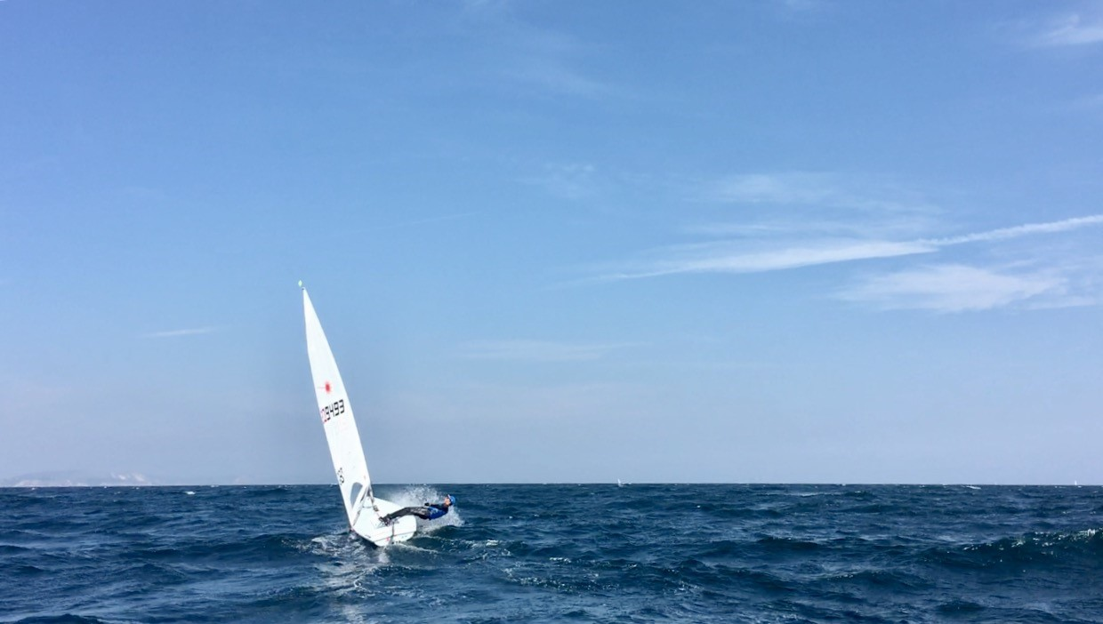 Training in sunny Weymouth at the start of May was great fun and we had a interesting mix of conditions.