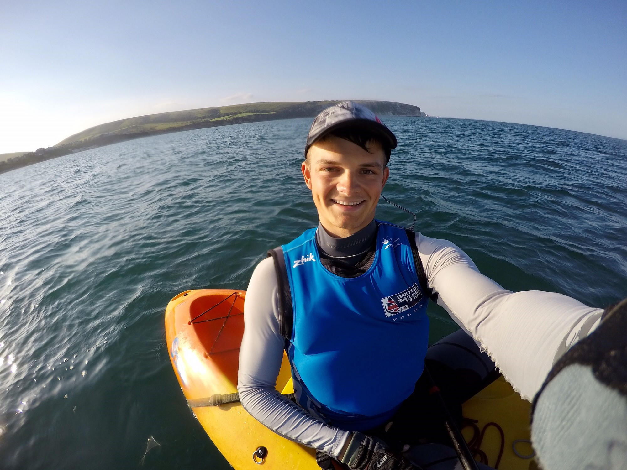 I then returned home for a couple more days of training in the Laser and the gym as well as mixing it up with some kayaking and Waszp sailing in the incredibly hot weather we had!