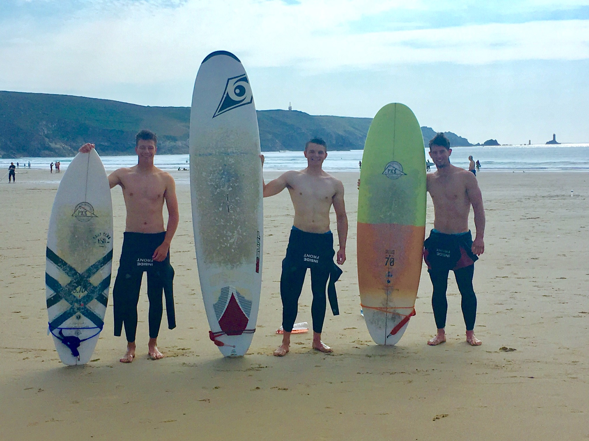 ...And ended up surfing on a lovely beach just down the coast. Despite it being my first ever time surfing I learnt quickly and had a whale of a time surfing some awesome waves!