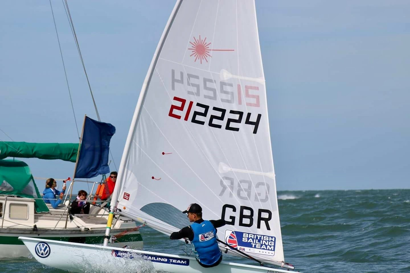 On my way to winning my second ever race at a World Championships!