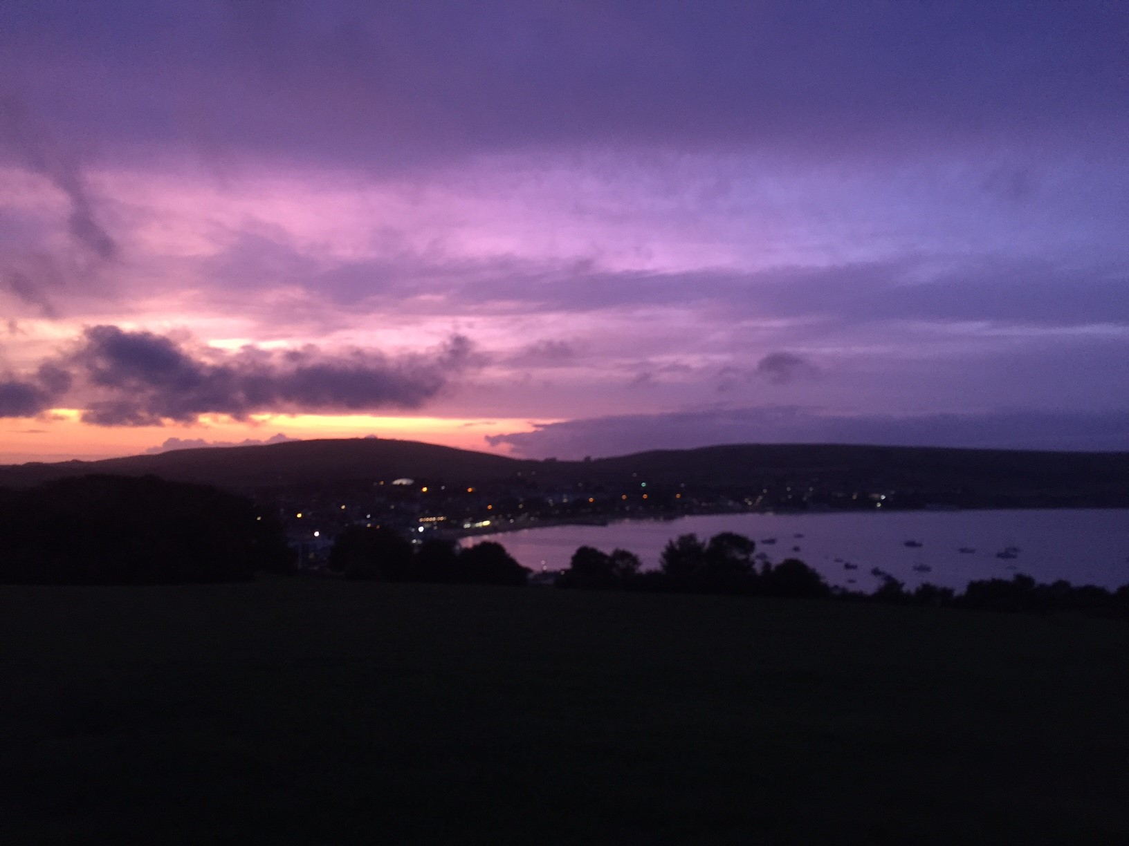 After my hard days training in Weymouth it was nice to go home, take a walk and reflect on the day gone by. When met with sunsets like this it really makes me appreciate where I live.