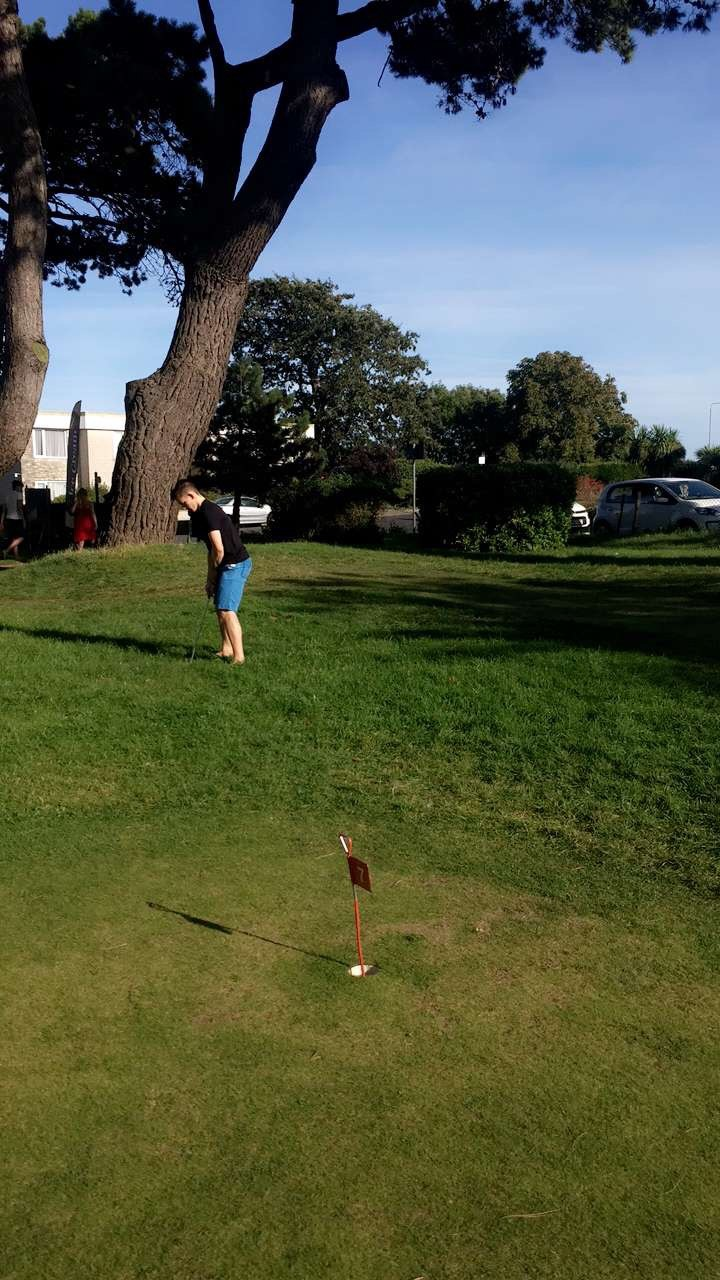 I've also recently got into 18 hole putting at the local Beach Gardens in the evenings after sailing and have enjoyed many a round with my brother Ben. We're not great (yet)but we are getting better! The Masters 2030?