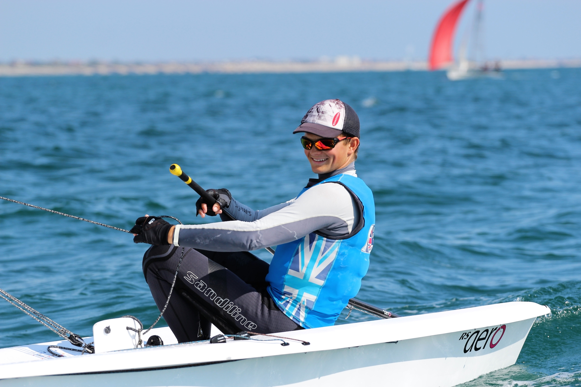 Whatever the weather conditions I was loving sailing the Aero. It was so light, responsive and fun to sail. Always had a smile on my face!