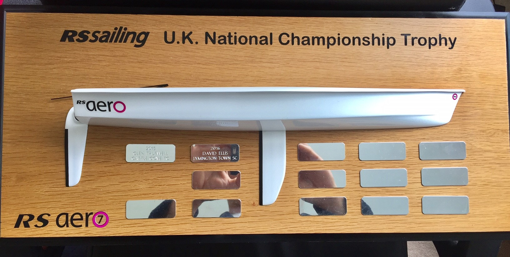 Awesome to have won this great trophy!