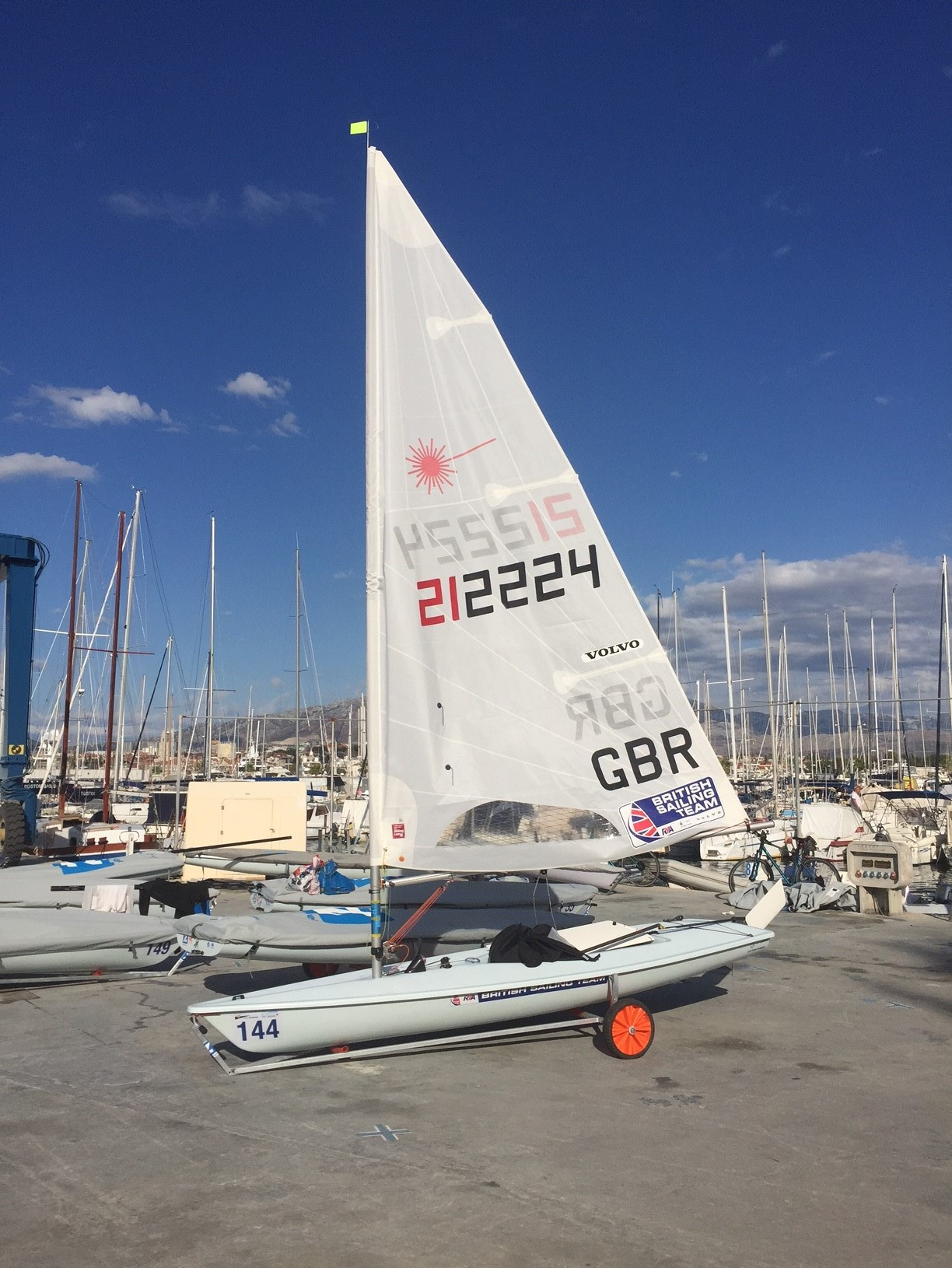 After flying in, collecting my charter boat and setting her up I was ready to go for the start of the competition!