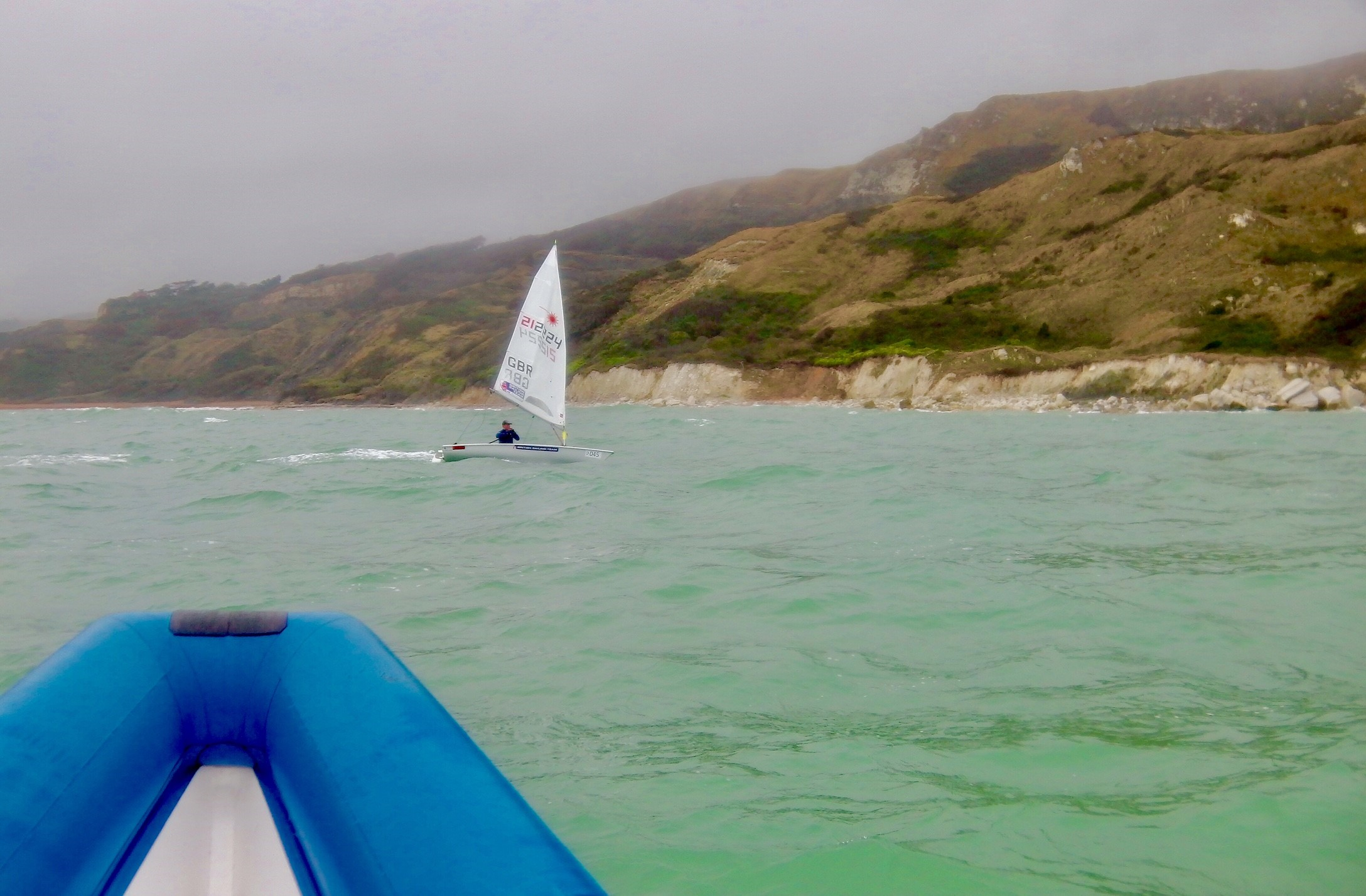 First winter training session in Weymouth - the classic to Osmington Cliffs and back!