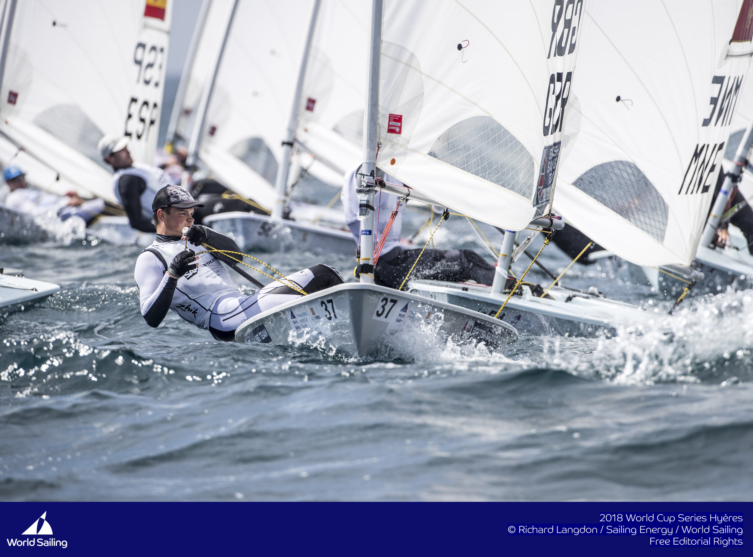 After day one I was lying in 8th overall - not bad for my first ever world cup!