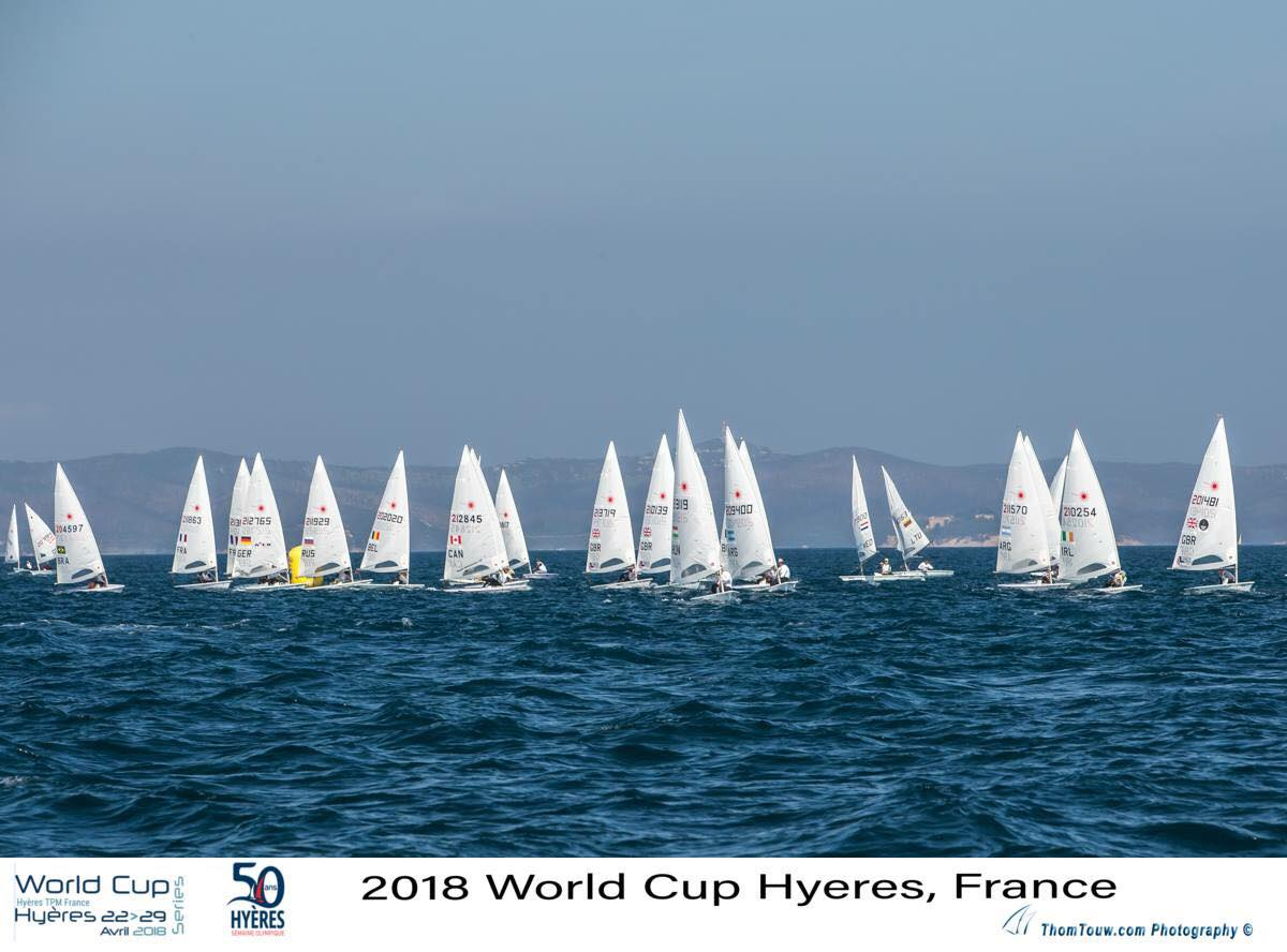 At the end of the 5 day competition I finished in a respectable 42nd overall and 27th European sailor. Not bad for my first world cup but I knew I had potential to be many, many places higher.