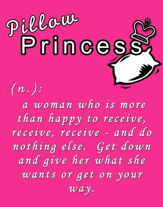 lesbian pillow princess definition