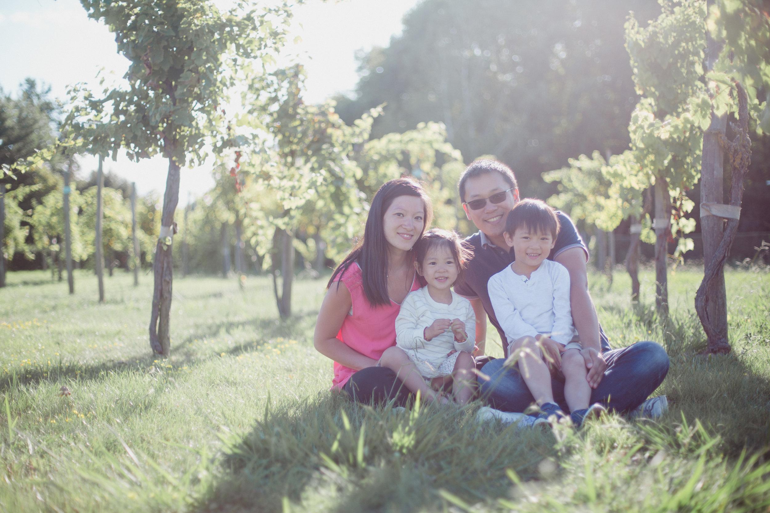 séance famille Photographe Bordeaux Dordogne vignes Pauline Maroussia P.