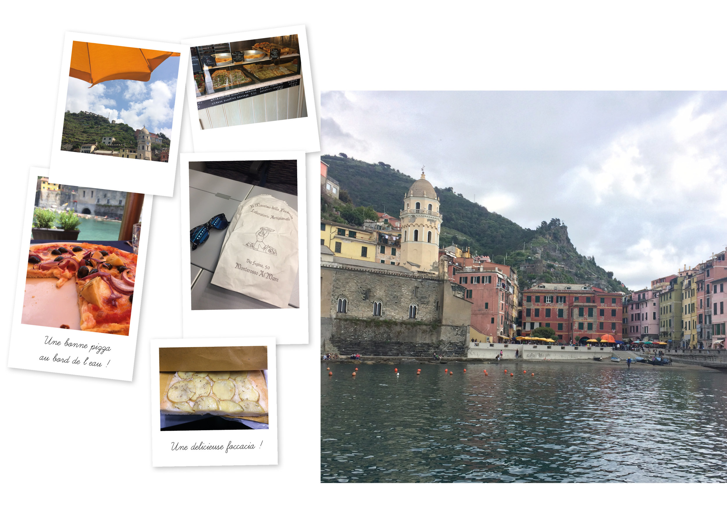 Cinq Terres Italie Vernazza Road Trip Train