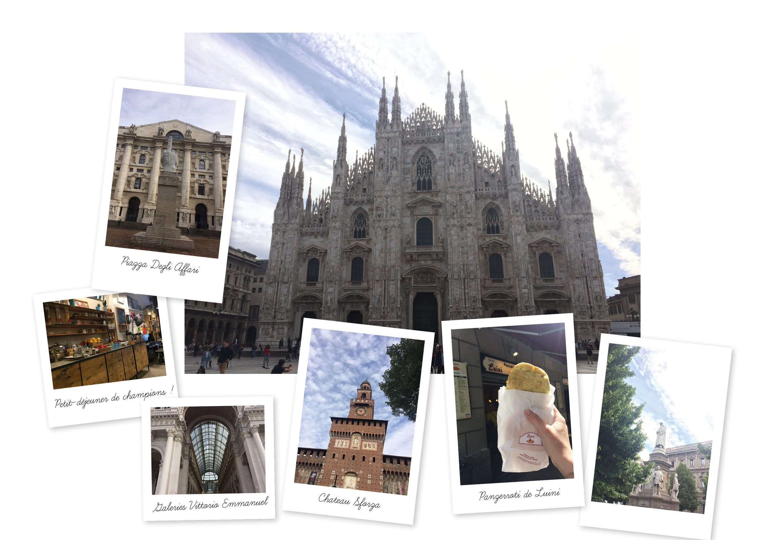 Road Trip Italie du Nord Train Milan city guide