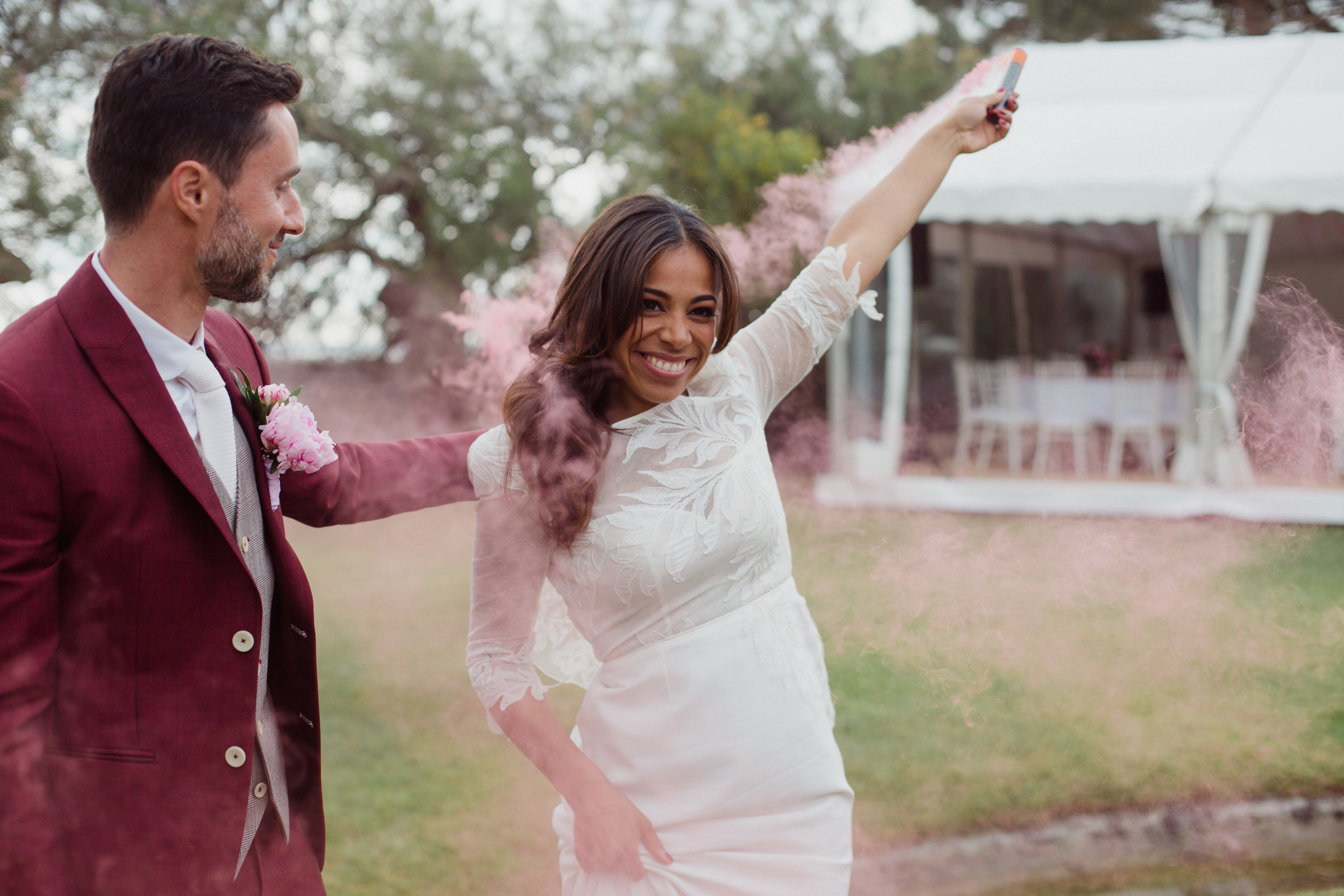 mariage_tropical_bassin_arcachon_villa_latosca_fumigene_photographe_sudouest_pauline_maroussia