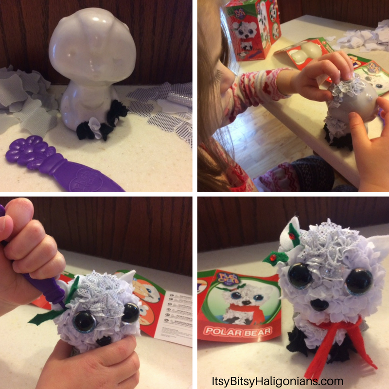 Orb Factory Plush Craft 3D Polar Bear