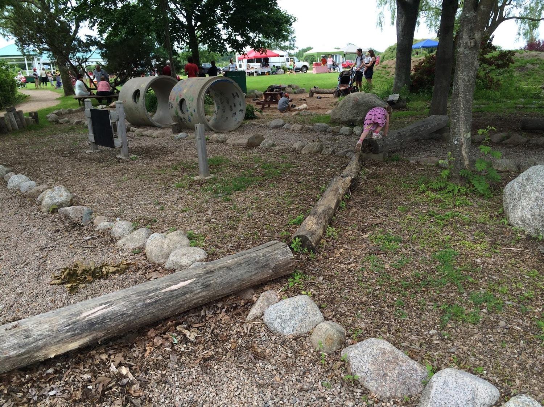 Jubilee Natural Playground in Bridgetown, NS