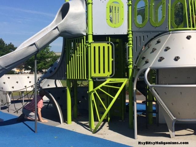 Dartmouth's ship themed Kiwanis Waterfront Playground