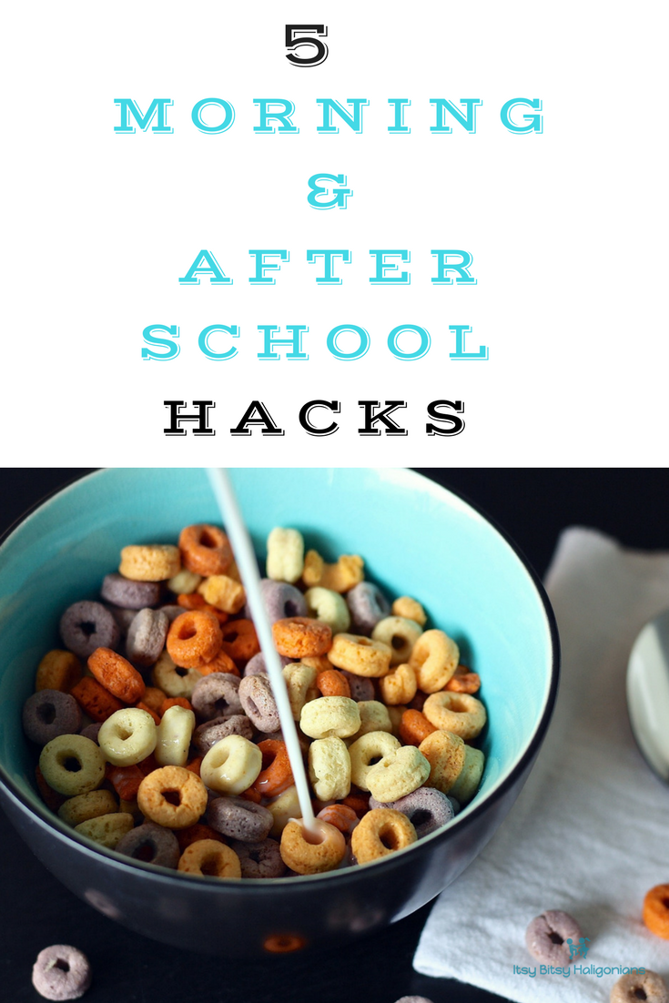 5 morning and after school hacks