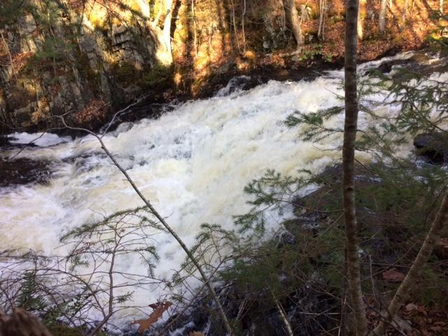 Miller Lake Falls