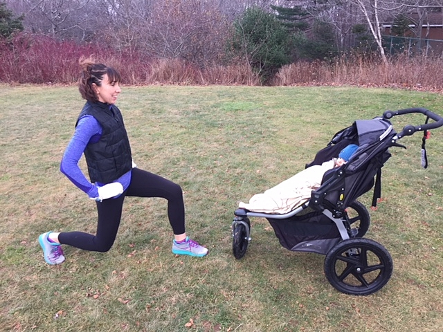 Courtney has a full repertoire of nursery rhymes that she pulls out to sing to the babies while working out - come to her class to find out which is her favourite (Image courtesy of Port City Strollers)