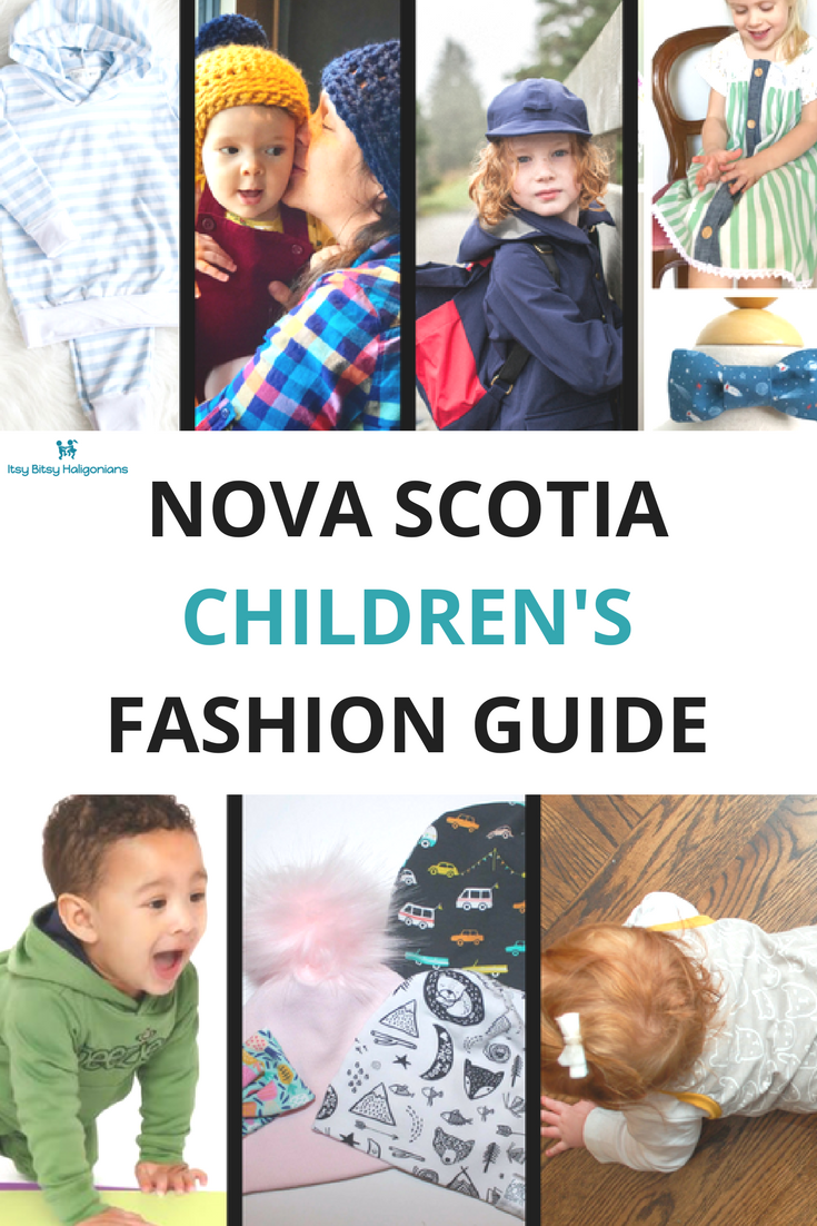 Nova Scotia, Canada is full of incredibly talented children's clothing designers and producers. Here are seven amazing options!