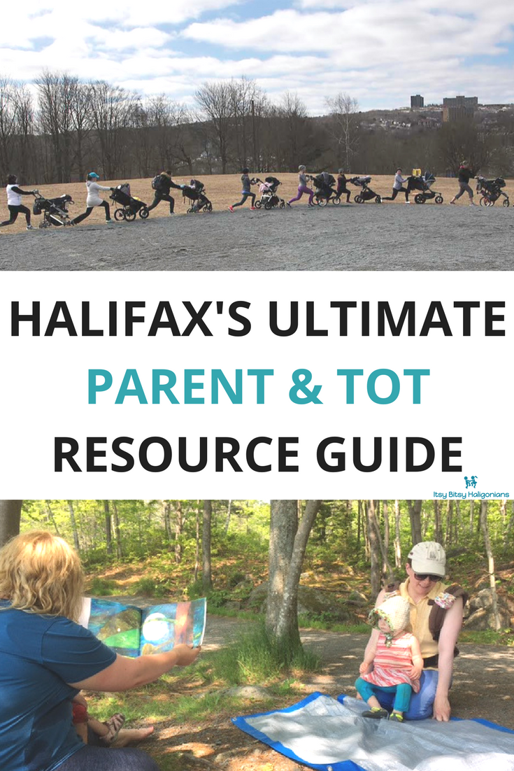 The One-Stop Shop for all of Halifax's Parent and Tot Programs are in this Resource Guide. Save this pin!!! (Top image courtesy of Port City Strollers, bottom taken at Halifax's Free Forest School).
