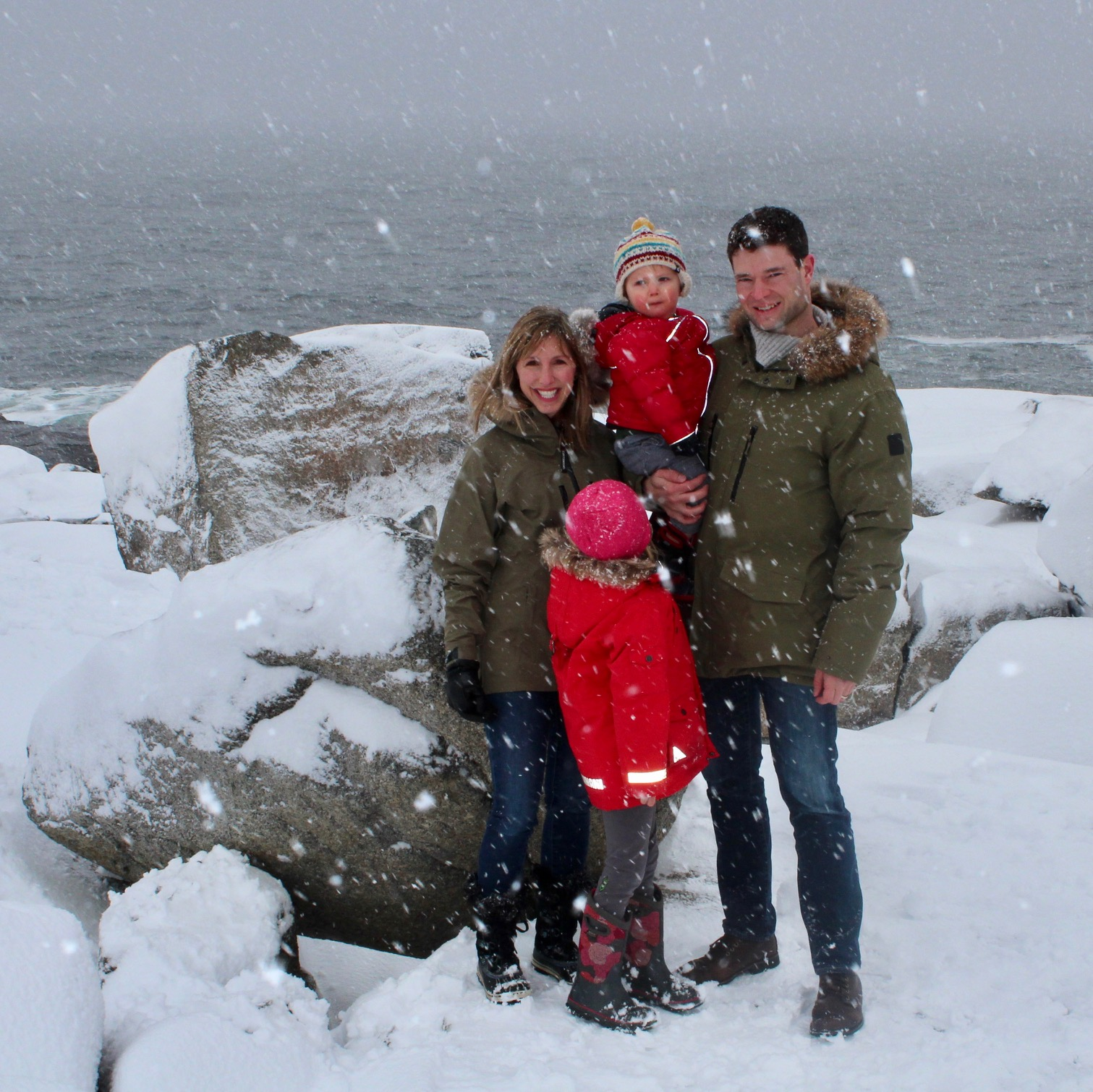The Birch Family's first trip to Peggy's Cove