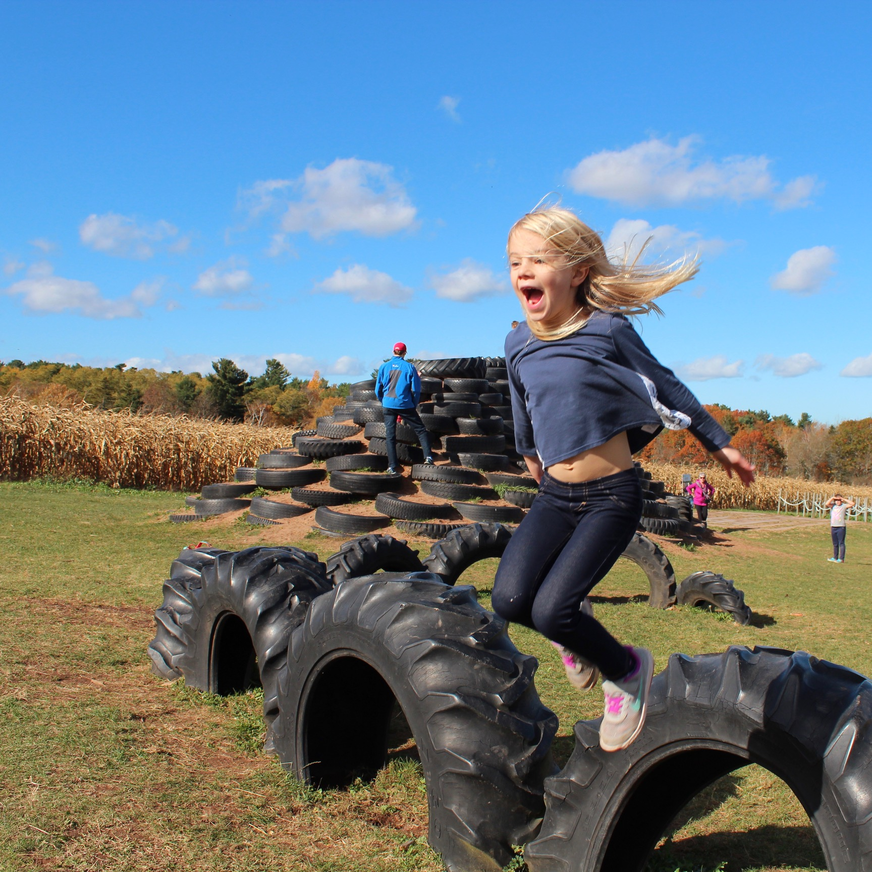 Autumn fun at Noggins Farm
