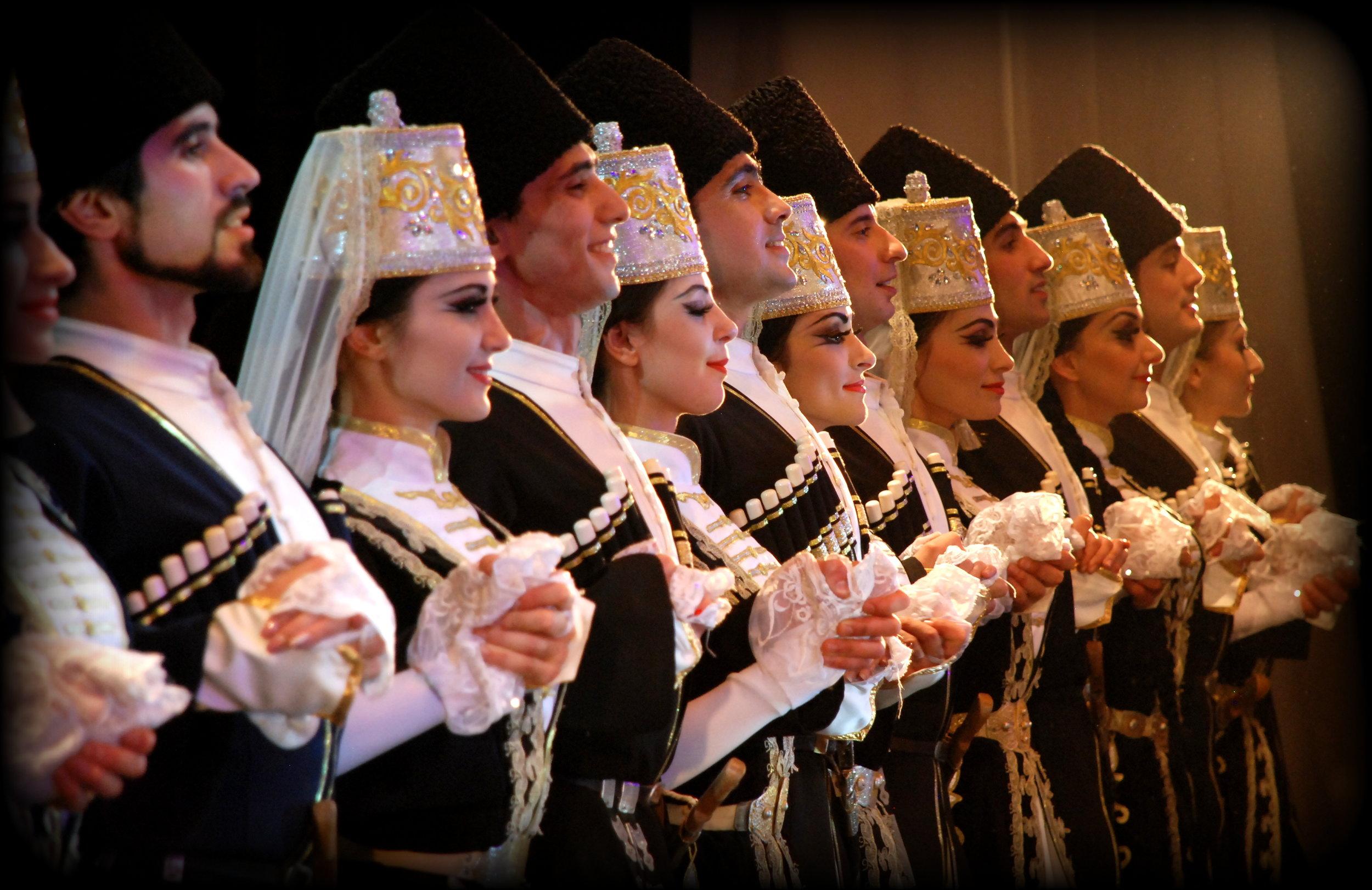 "The State Academic Ensemble of Folk Dance оf Adygea, ""Nalmes"" - Russia.JPG"