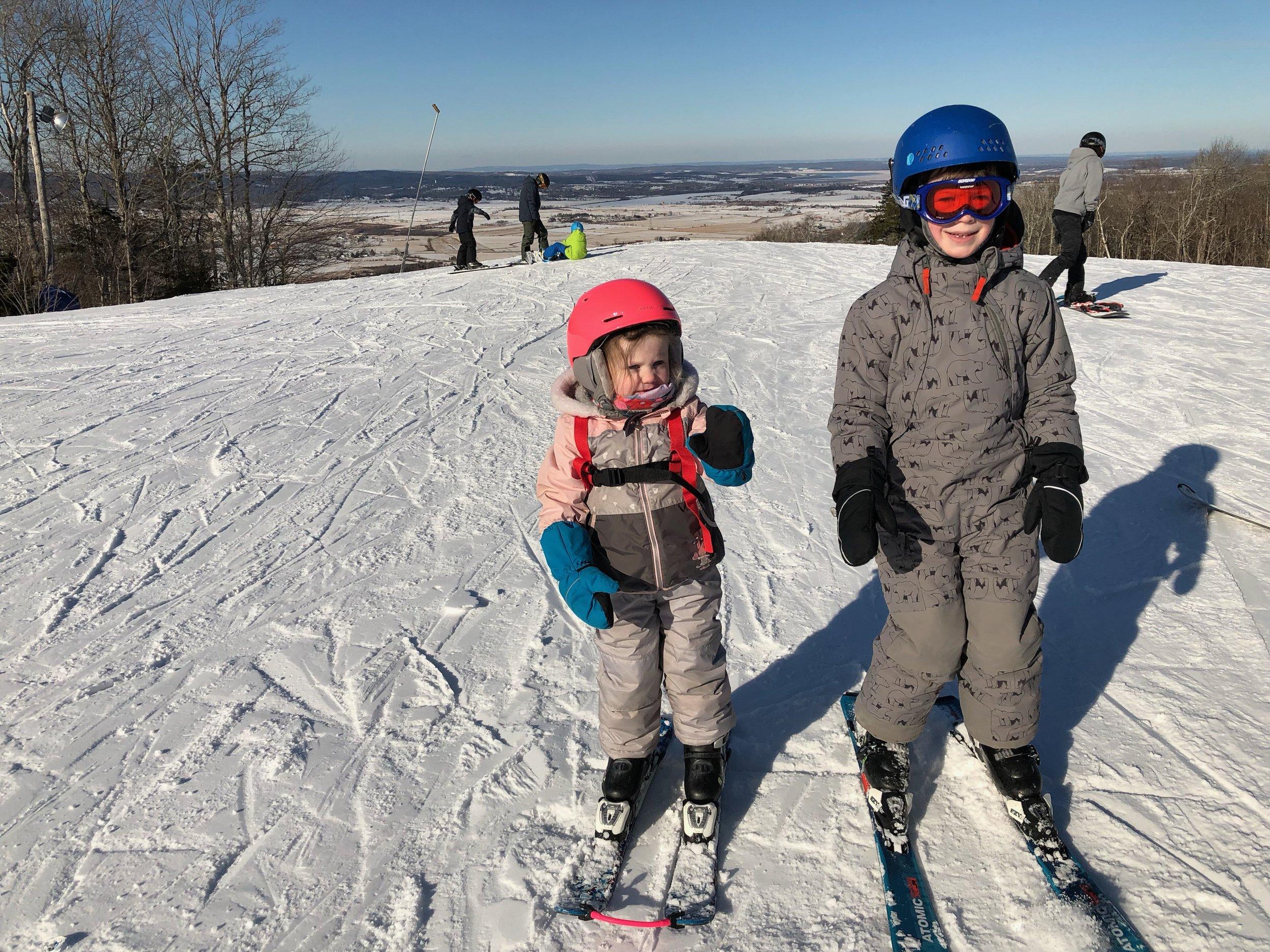 Martock skiing