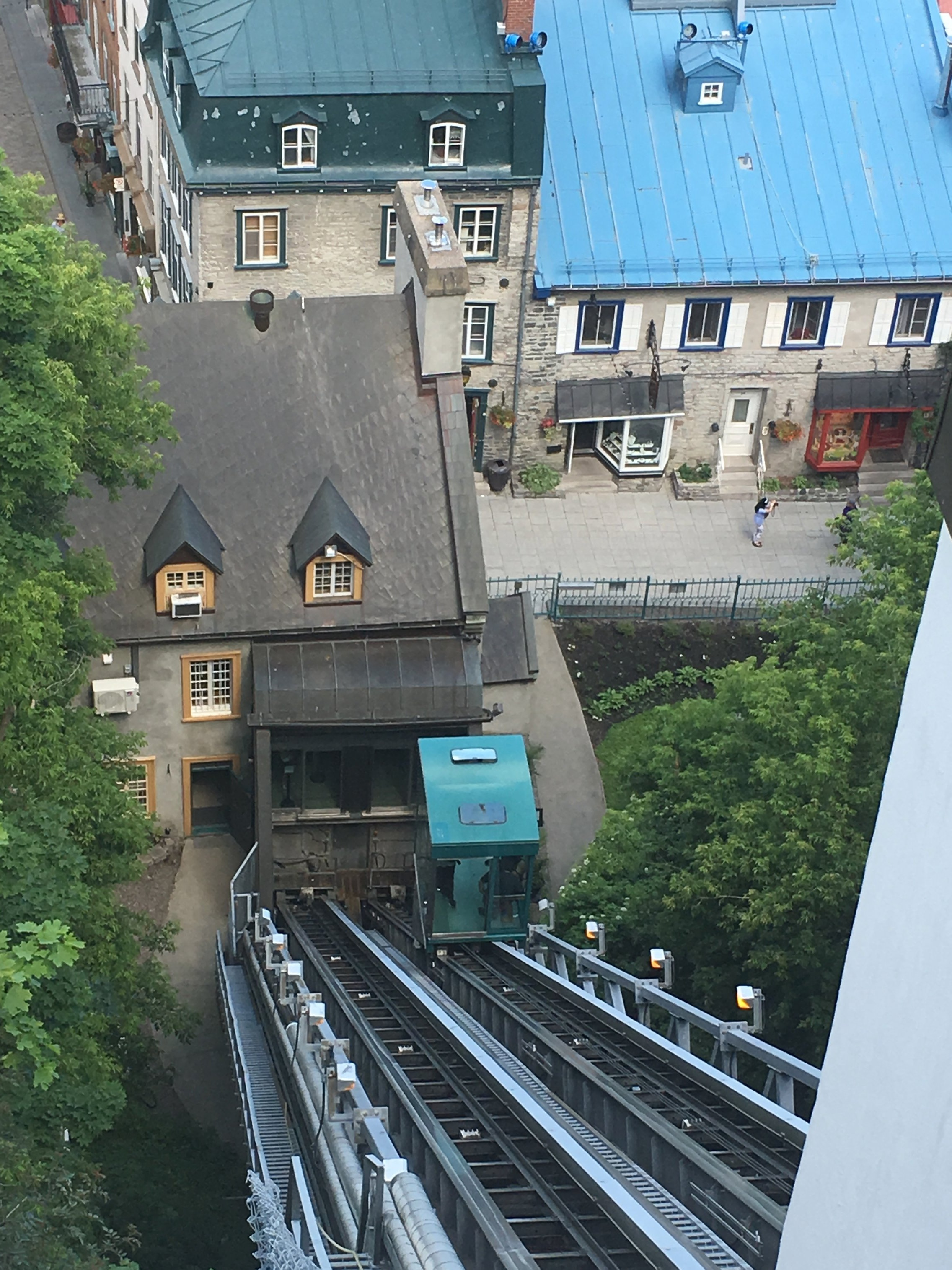 funicular+in+Old+Quebec