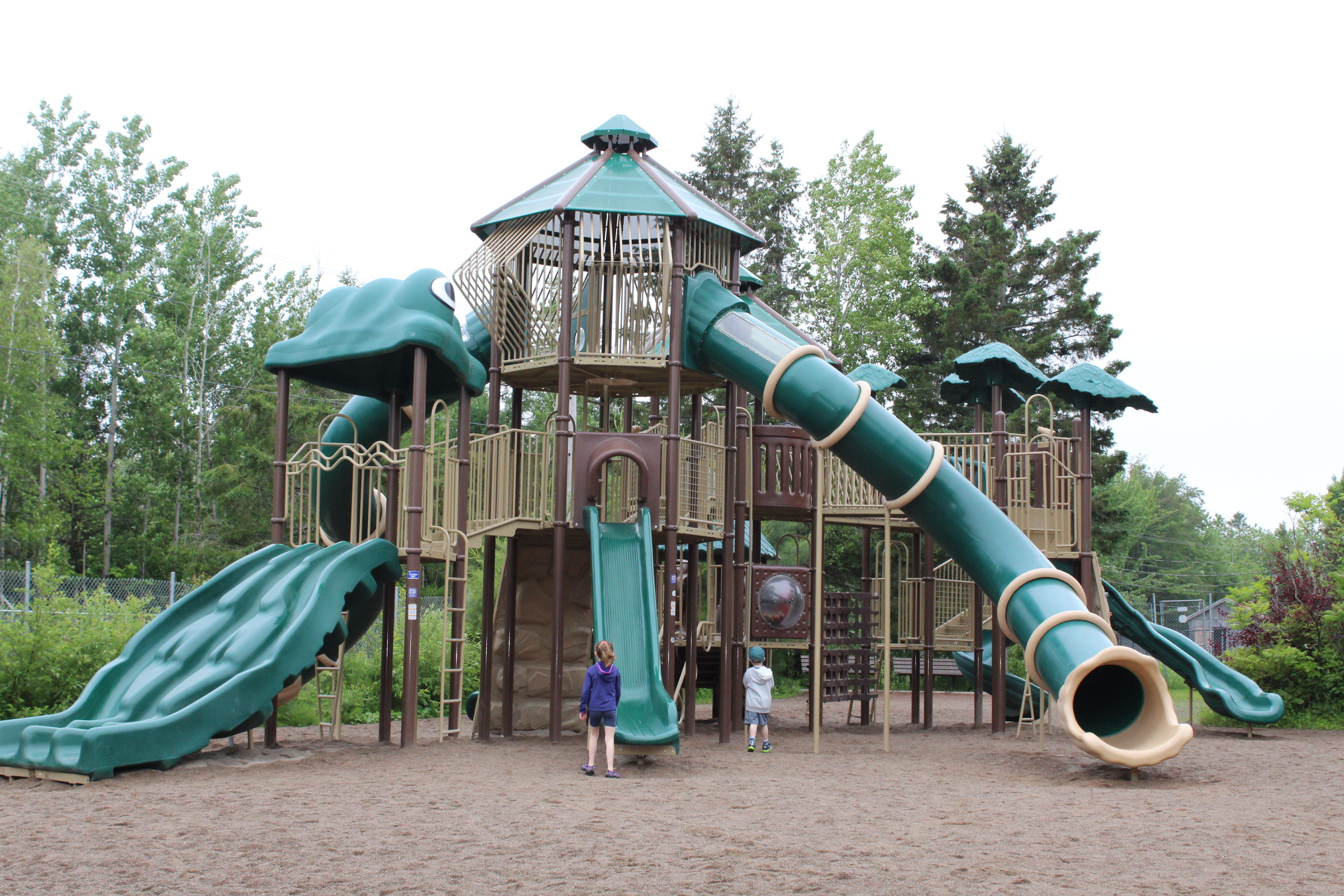 Magnetic Hill Zoo playground