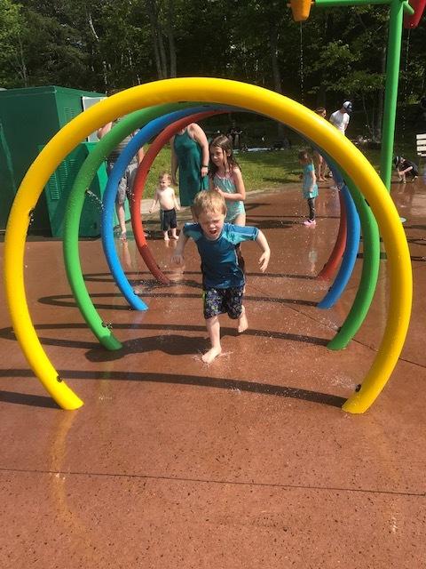 Sackville Splash Pad Rainbow Arch