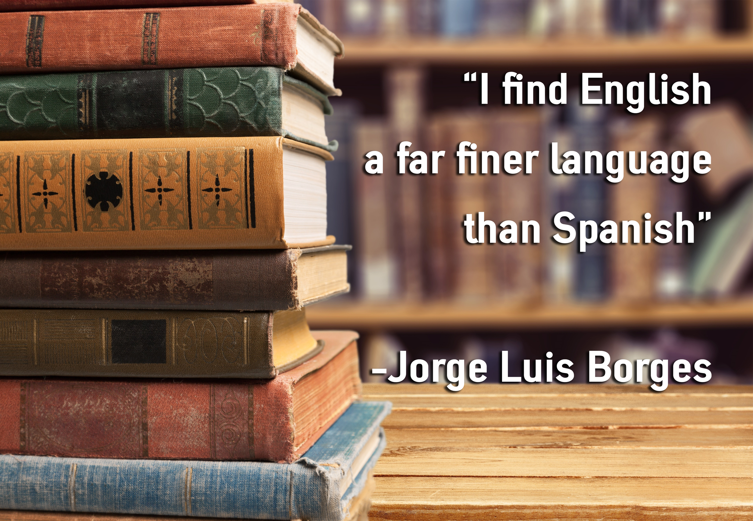 """Borges speaking on Buckley's """"Firing Line"""" - (  Adobe Stock Photo)"""