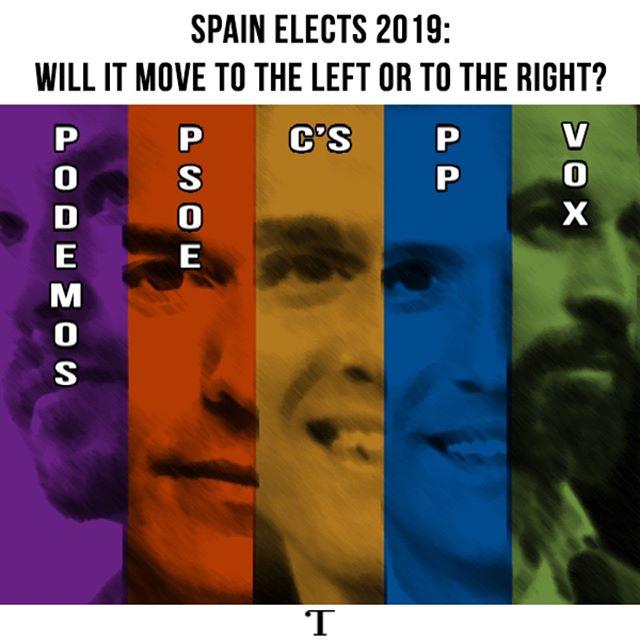 #Spain #España #Elecciones #Elecciones2019  #EleccionesEspaña  @realtribunamag
