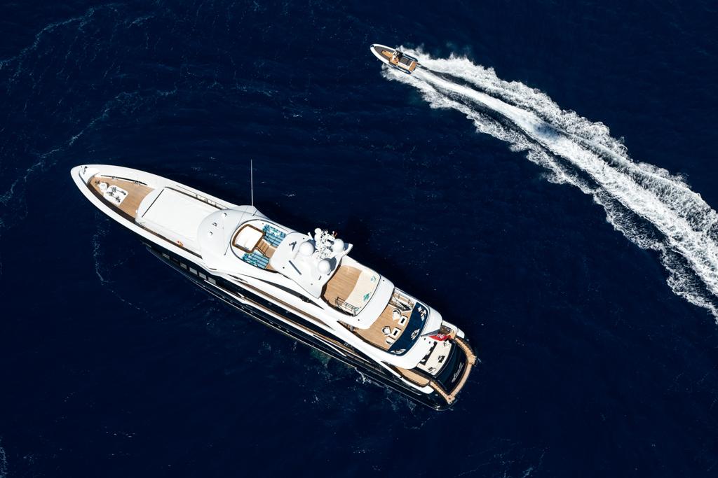 Stock photo courtesy of Heesen Yachts