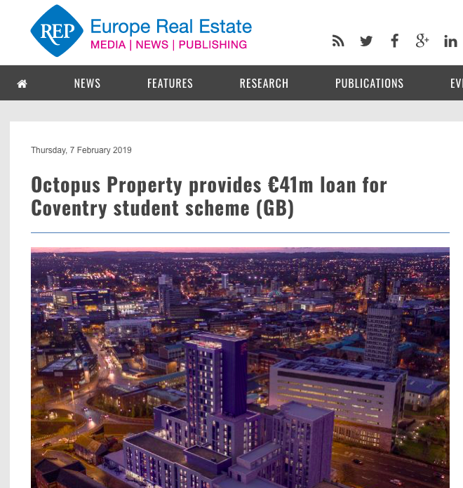 Europe Real Estate Coverage