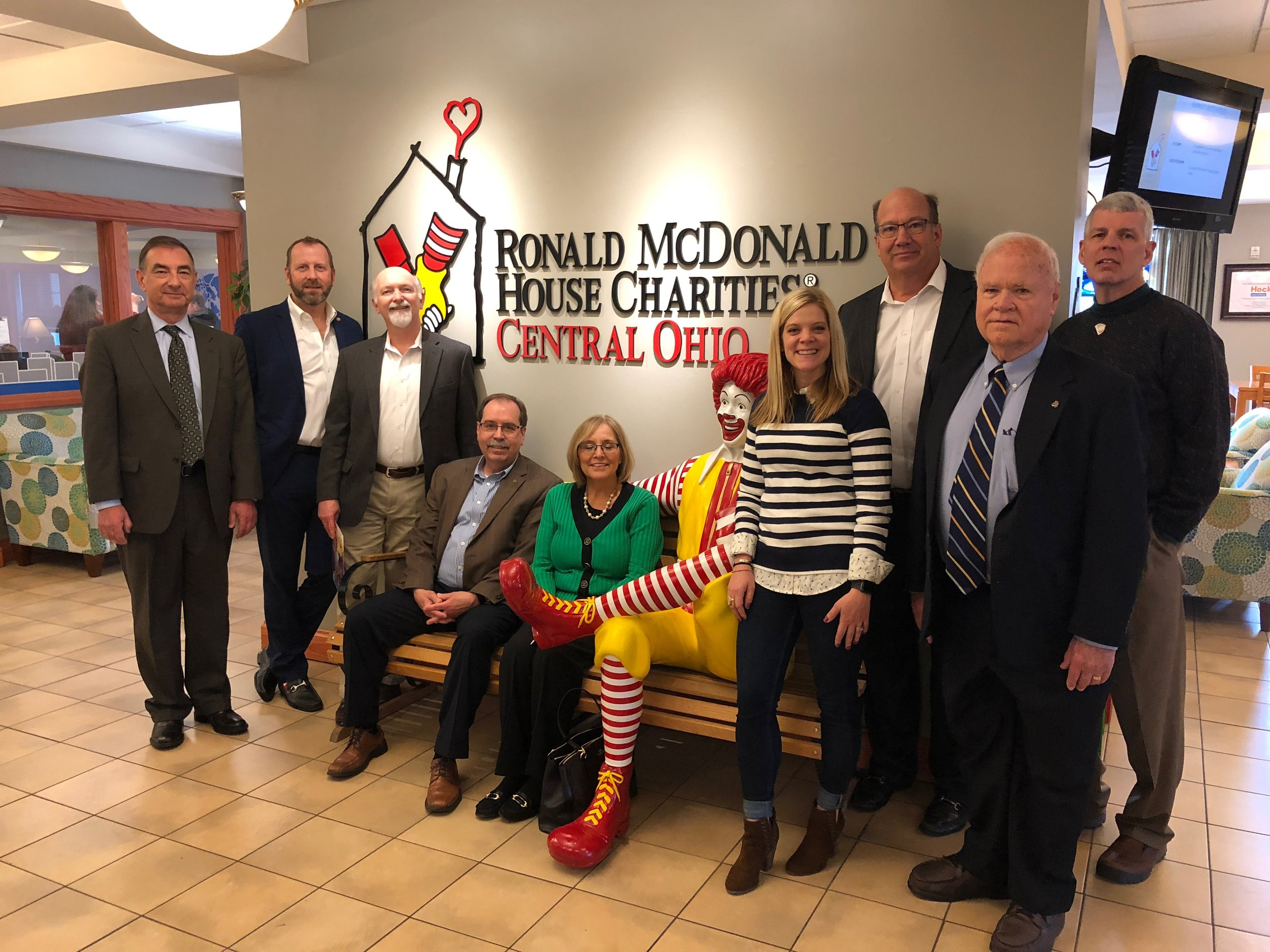The Columbus Rotary Vocational Lunch at The Ronald McDonald House