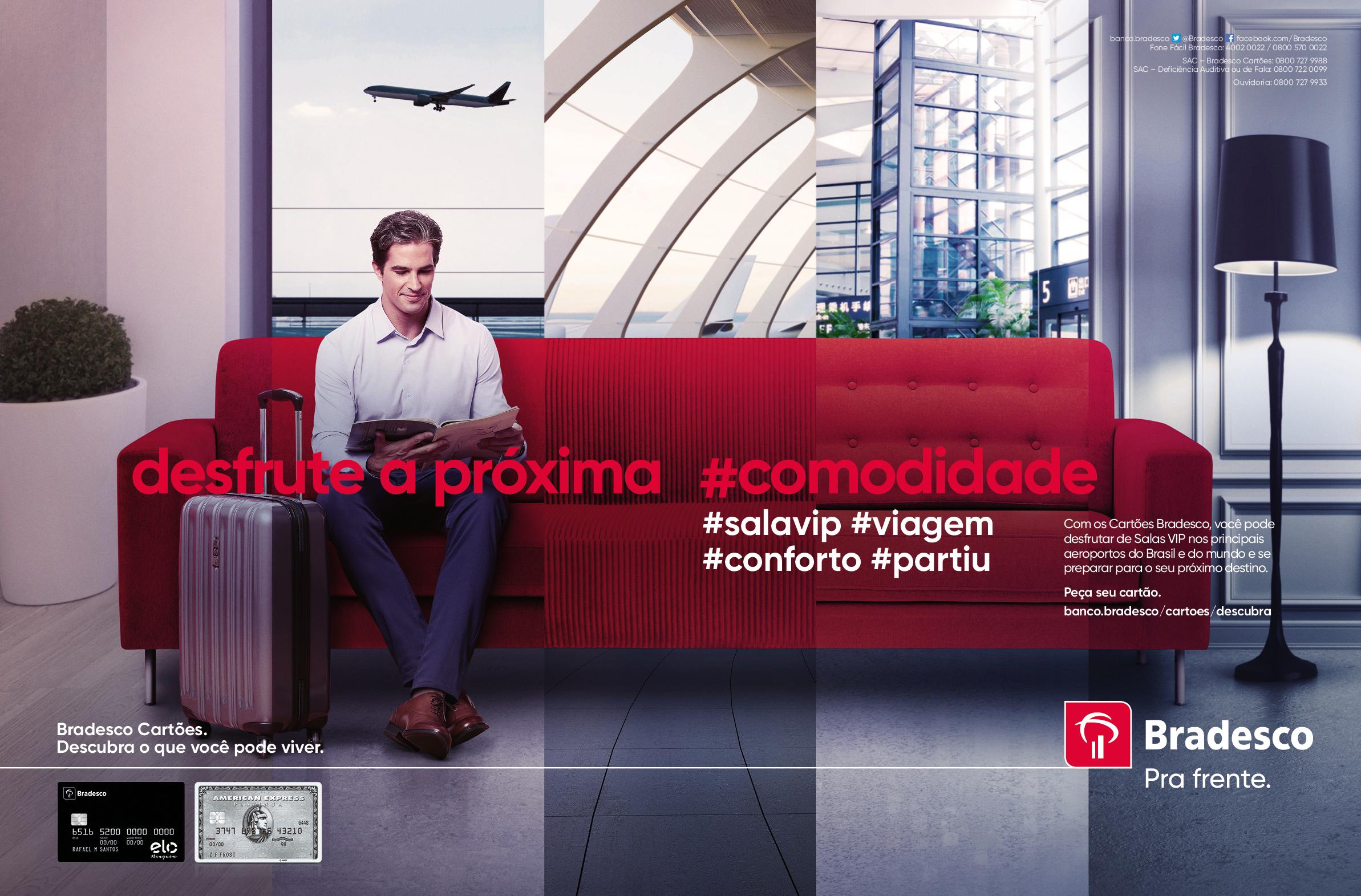 Copy:  Enjoy the next convenience. #viproom #travel #comfort #let'sgo