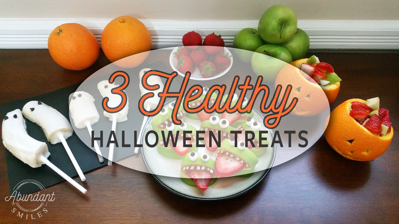3 Healthy Halloween Treats