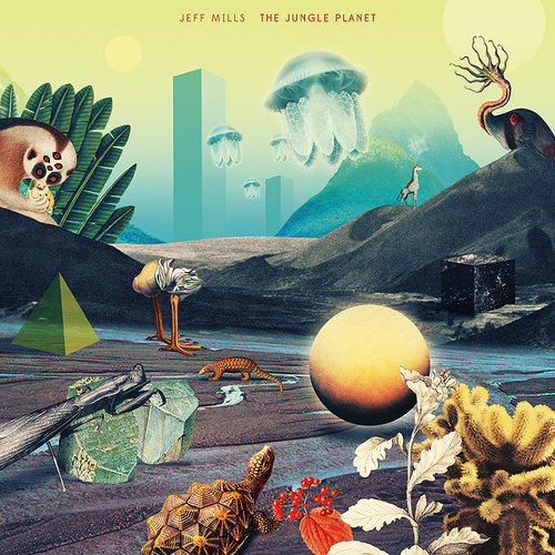 Julien Pacaud - Julien Pacaud is a French artist and illustrator, living and working in Paris. In 2013, Julien collaborated with Axis Records, the home of Jeff Mills and Yoko Uozumi, producing the cover of The Jungle Planet.
