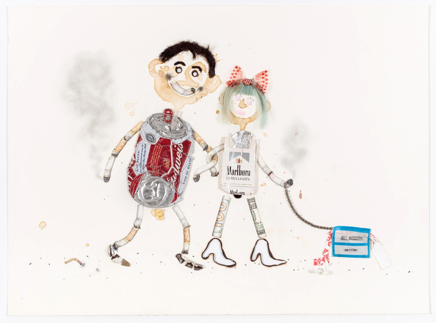 Aurel Schmidt Voodoo Couple