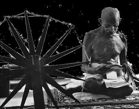 todo comenzó con Gandhi