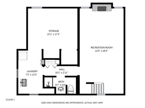 2D FLOOR PLANS - We can deliver overhead floor plans with measurements for any of our projects.