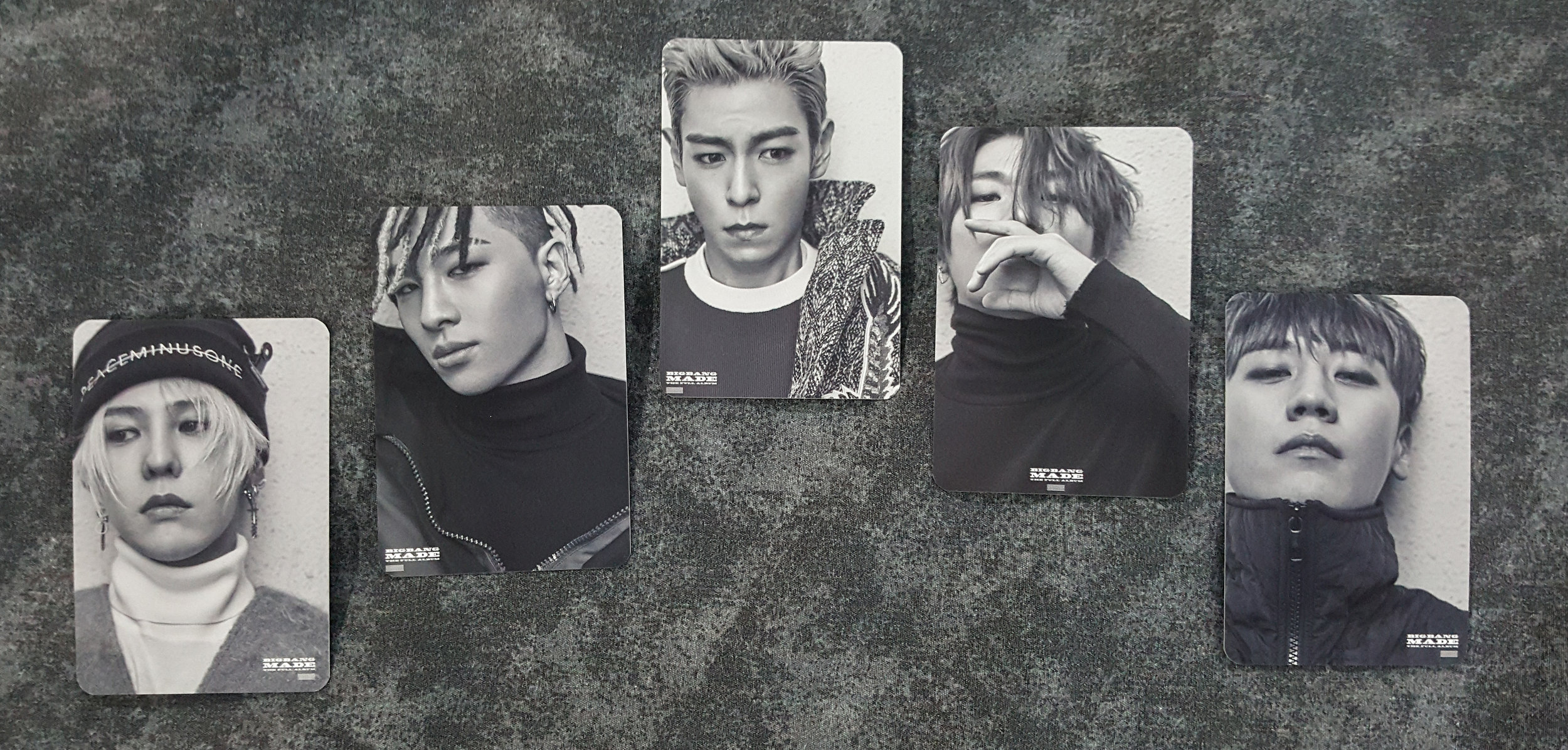 2016 - MADE Full Album - Special Photocards (Double sided) — my BIGBANG  collection