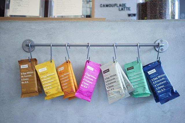 Good coffee, good snacks, good company. No BS, period. @rxbar #ifyouwerehere