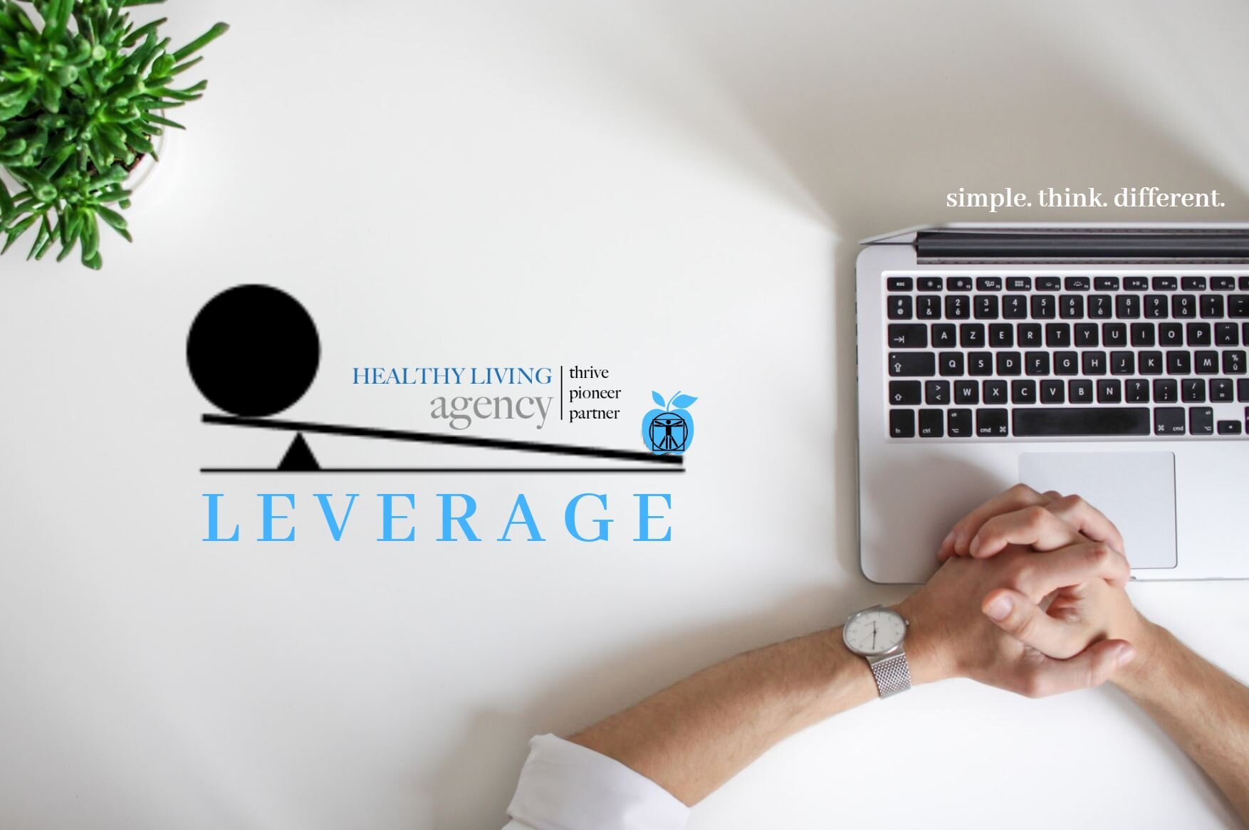 Click on image and learn about creating #LEVERAGE