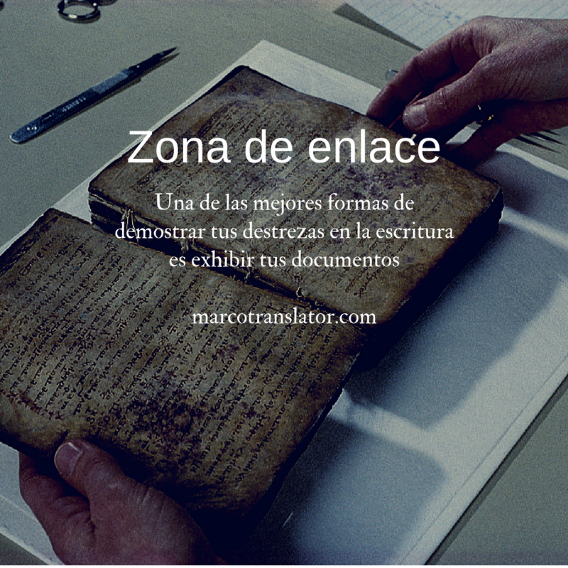Spanish translation and writing